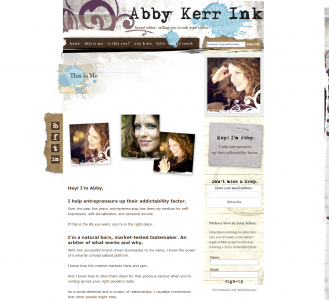 "AbbyKerrInk.com - Speak in a human ""voice"""