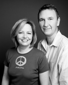 Jim and Sandy Martin, founders of Green3 Apparel