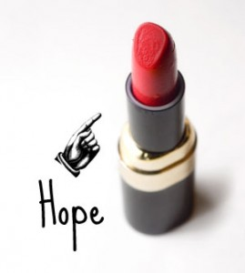 lipstick=hope