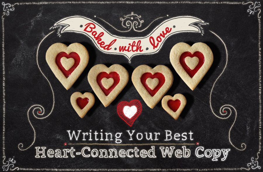 Baked With Love: Heart-connected web copy