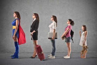 bigstock-evolution-of-woman-from-small--51008150