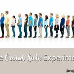 The Crowd Sale Experiment