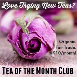 Plum Deluxe tea of the month